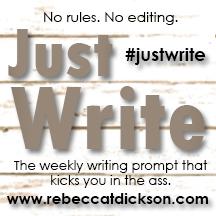#justwrite logo